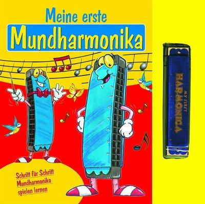 Meine erste Mundharmonika: Schritt für Schritt Mundharmonika spielen lernen Taschenbuch – 1. Oktober 2005 Tosa 3902478039 MAK_GD_9783902478030 Instrumentenunterricht