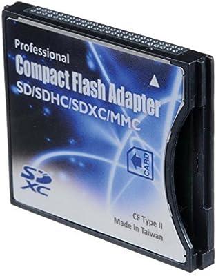 shopdigi SD/SDHC/MMC/Tarjeta de Tarjetas para Compact Flash CF ...