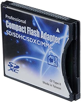 shopdigi SD/SDHC/MMC/Tarjeta de Tarjetas para Compact Flash ...