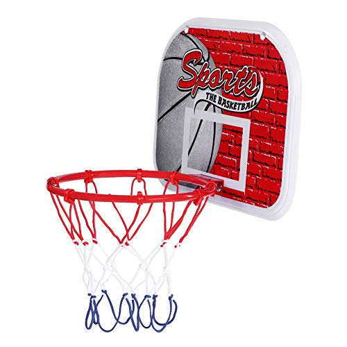 0e0affc2f1e Zerone Indoor Children Mini Basketball System Backboard Hoop Kit Door Wall  Mounted Kids Toy Set
