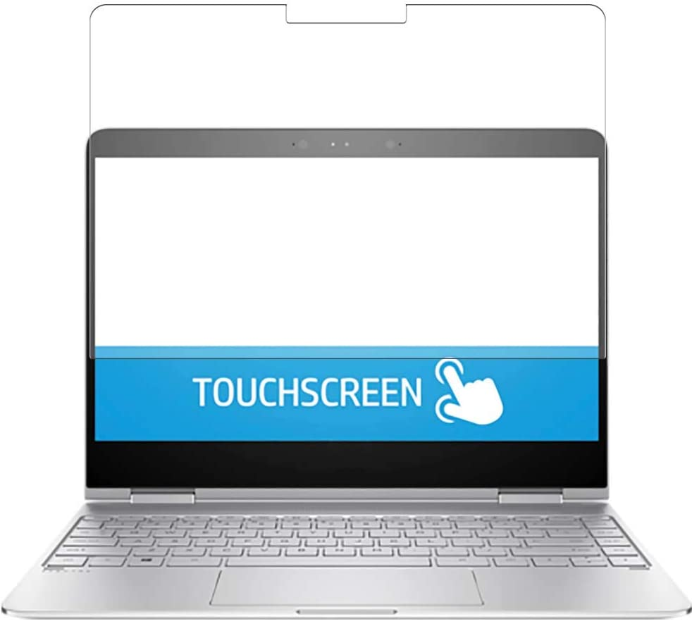 Puccy 2 Pack Anti Blue Light Screen Protector Film, compatible with HP Spectre x360 13-w031ng 13.3 inch TPU Guard ( Not Tempered Glass Protectors )