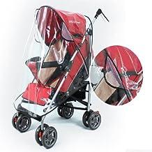 [Free Shipping] Baby Rain Wind Snow Sleet Cover for Single Jogger Stroller // Pluie vent couverture de neige de grésil bébé pour seule poussette jogger