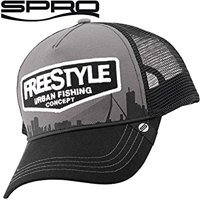P3 International Spro Trucker Cap Freestyle Grey – Gorra de Pesca ...