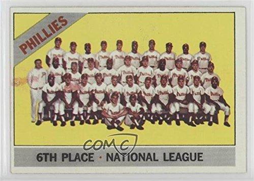 - Philadelphia Phillies Team (Baseball Card) 1966 Topps - [Base] #463
