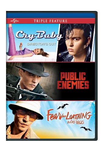 Cry-Baby / Public Enemies / Fear and Loathing in Las Vegas Triple - And Depp Vegas Loathing Fear Las Johnny