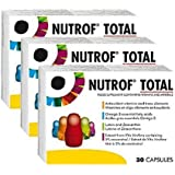 Nutrof Total 90 Cápsulas Suplemento Dietético para una saludable Ojos (3 Meses Tratamiento)