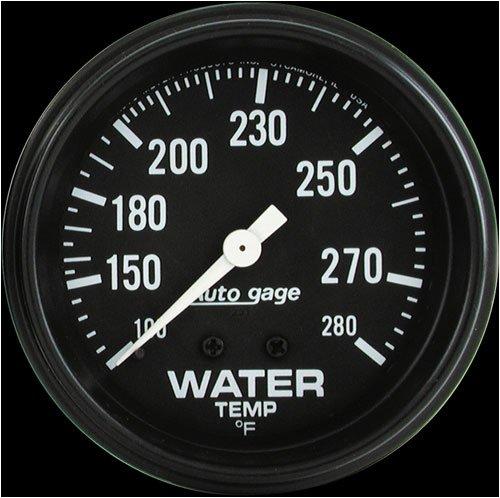 "Autometer 2313 2-5/8"" WATER TEMP, 100- 280`F, MECH"