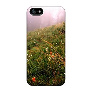 Hot EVM28457lZBs Forest Fog Cases Covers Compatible With Iphone 5/5s