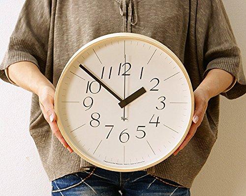 Lemnos(レムノス) 掛け時計 Riki Clock(リキクロック)Lサイズ B01B13LFGC