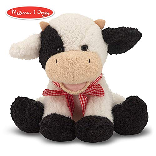 (Melissa & Doug Meadow Medley Calf - Stuffed Animal Baby Cow With Moo Sound)