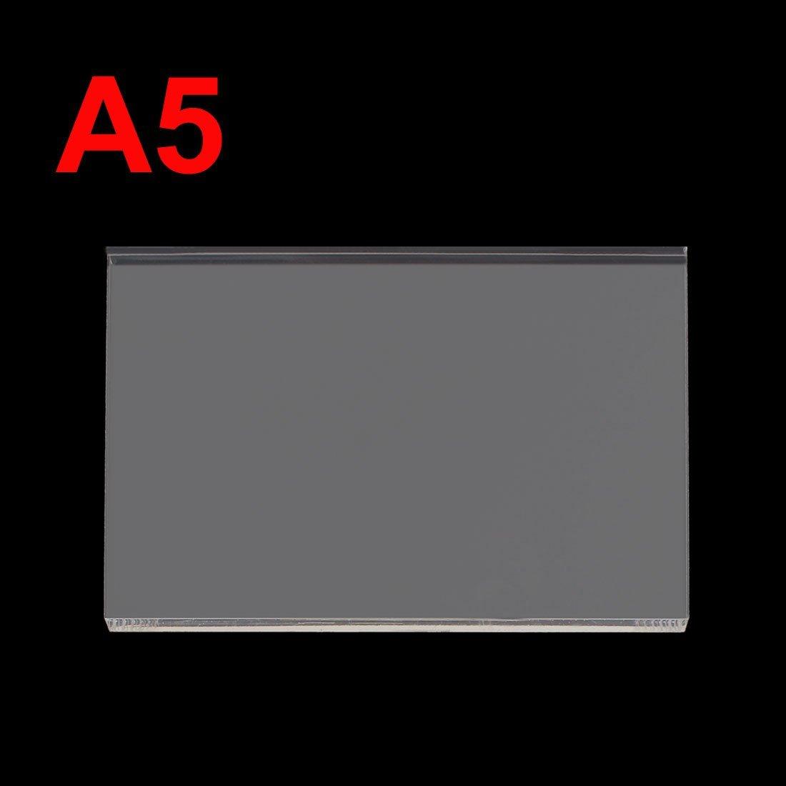8mm en plastique transparent acrylique Plexiglas Cut Sheet A5 Taille 148mm x 210mm