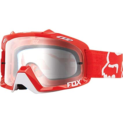 classic style shop authorized site Fox Racing Air Defence Race Adult MX Motorcycle Goggles Eyewear -  Red/Clear/No Size