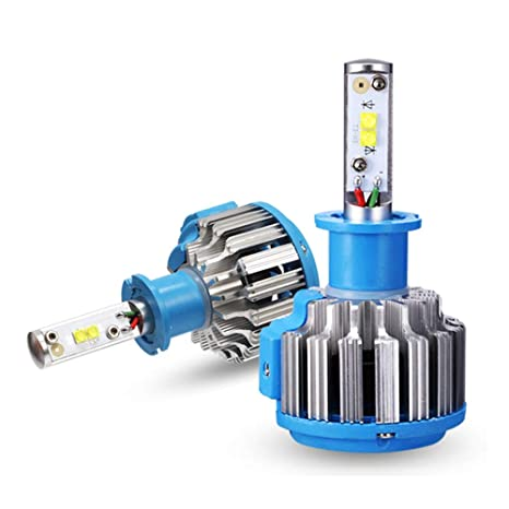 Bombillas Para Faros LED 3300LM 35W 6000K Super Brillante, IP67 A Prueba De Agua,