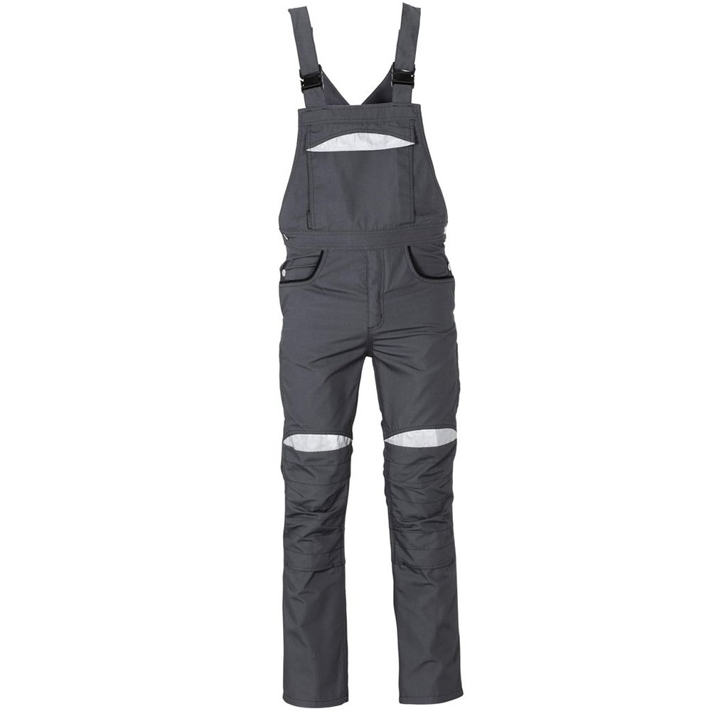 56 Size Gray//Black Planam 2921056DuraWork Dungarees Safety Pants