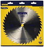 IRWIN Tools Classic Series Steel Table / Miter Circular Saw Blade, 10-Inch, 40T (11170)