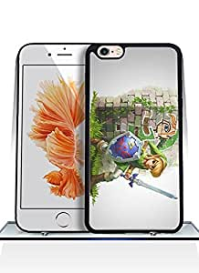 Peronalised Pattern Legend Of Zelda Link Iphone 6 Hard Plastic Funda Case With Anti - Dust Protective Design Compatible With Iphone 6 / 6S (4.7) Funda Case