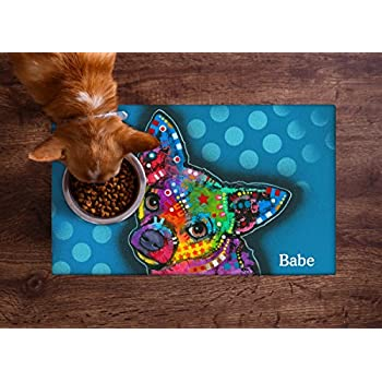 Amazon Com Drymate Personalized Pet Placemat Dean Russo