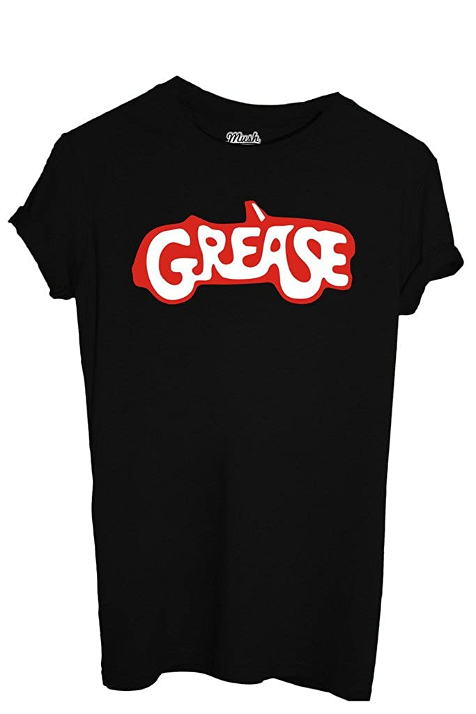 T-Shirt Grease - Film By Mush Dress Your Style: Amazon.es: Ropa y accesorios