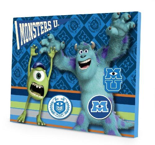 Monsters University Art (Disney Pixar Monsters University Magnetic Memo Board)
