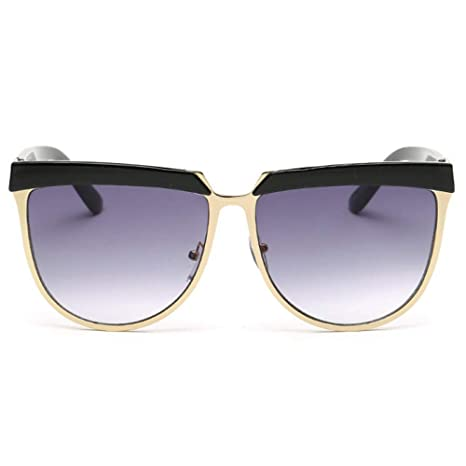 6dd0f172d1 Image Unavailable. Image not available for. Color  GMYANTYJ Sunglasses  Women s personality sunglasses ladies sunglasses glasses round face tide  retro ...