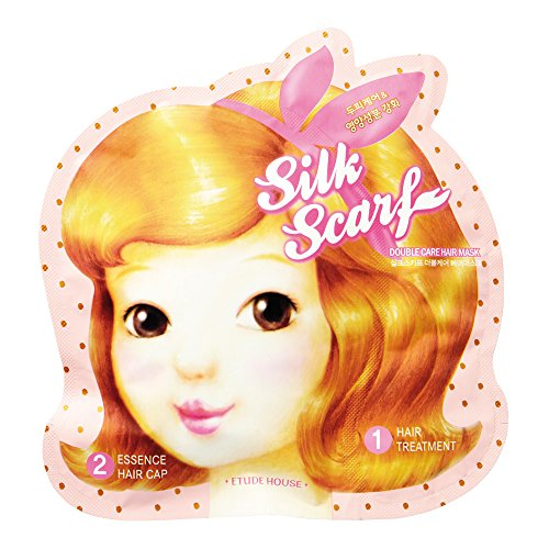 (Etude House Silk Scarf Double Care Hair Mask)