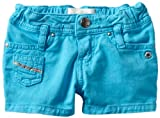51T6LCcJKDL. SL160  Diesel Baby Girls Infant Prityb A Colored Shorts, Ght Blue, 36 Months