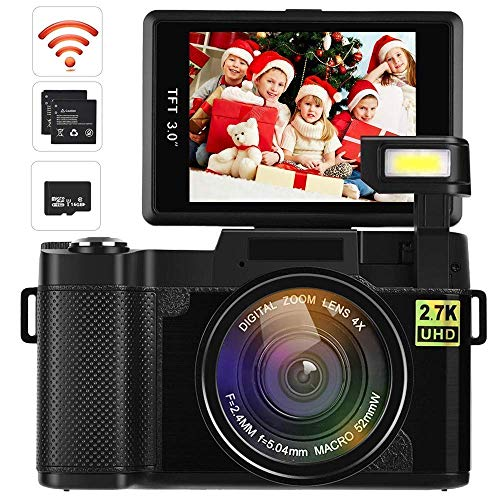 Video Camera Camcorder, DIWUER WiFi Digital...