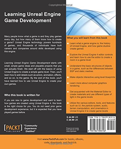 Learning Unreal Engine Game Development: Amazon in: Joanna Lee: Books