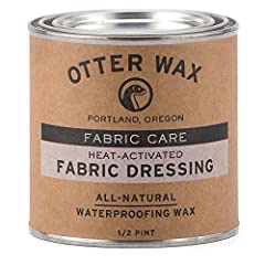 """Our Heat Activated Fabric Dressing is perfect for those hoping to achieve a """"Factory Waxed"""" appearance when waterproofing their gear. Our wax offers long-lasting protection from the elements and contains only ALL-NATURAL ingredients from rene..."""