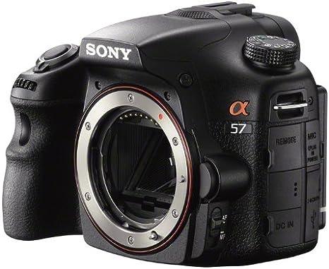 Sony SLT-A57 - Cámara réflex Digital de 16.1 MP, Pantalla de 3 ...