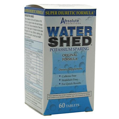Absolute Nutrition Watershed Diuretic 60 Ct