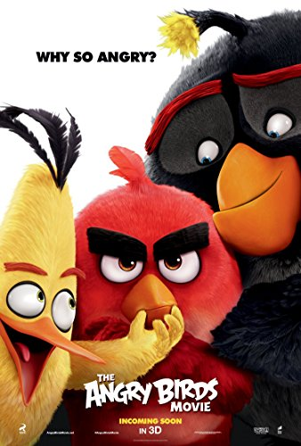 The Angry Birds - Movie Poster  Glossy Finish
