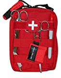 Doom and Bloom Deluxe Military Grade Gunshot Trauma Kit, True Gen7 CAT TQ, Celox Rapid Gauze, Great for Active Shooter Incidents, Survival, Outdoors, Ranges, Hunting, Any Bleeding Wounds and More