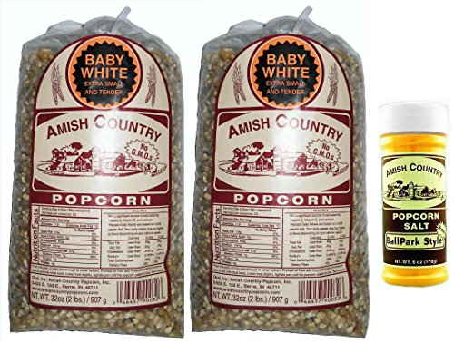 popcorn amish white - 8