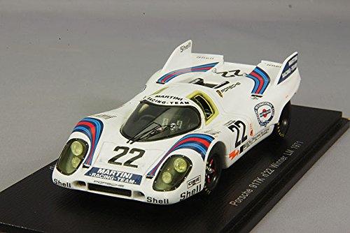 ☆ スパーク 1/43 ポルシェ 917K マルティニ 1971 ルマン24H ウイナー #22 H.マルコ/G.v.レネップ 【再生産】