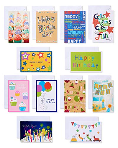 American Greetings Assorted Kids' Birthday Cards With