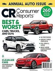Consumer Reports Magazine April 2021 - Annual Auto Issue