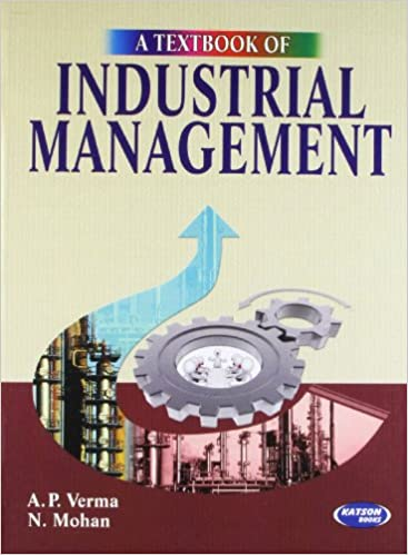 a p verma industrial engineering and management