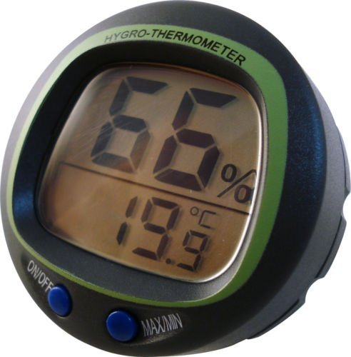 Dragon Poultry Panel mount digital hygrometer and thermometer - humidity hatc...