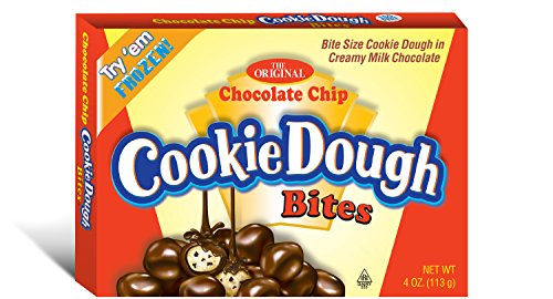 Cookie Dough Bites Chocolate Chip Theatre Box, 4 Ounce (Pack of 12)