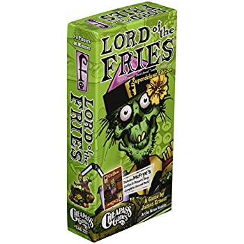 Lord of The Fries Super Deluxe Card Game