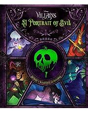 Disney Villains: A Portrait of Evil: History's Wickedest Luminaries (Books About Disney Villains)