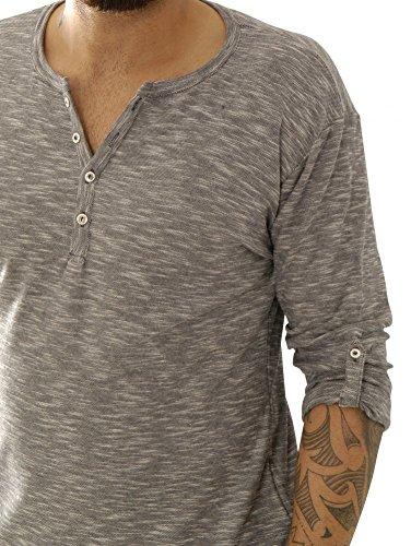 Key Largo Shirts Langarmshirts Ls Diavola Button Ls00191-1201