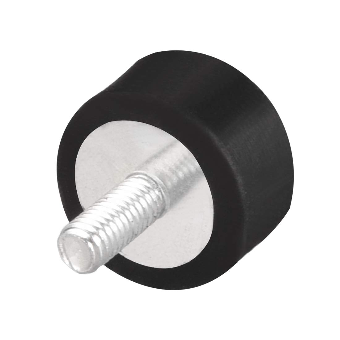 uxcell M5 Thread Male Female Rubber Mounts,Vibration Isolators,Shock Absorber 15mm x 15mm 8pcs