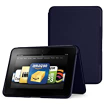 Fire HD 8.9 Standing Leather Case Ink Blue