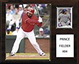 C&I Collectables MLB Texas Rangers Prince Fielder Player Plaque, 12 x 15-Inch