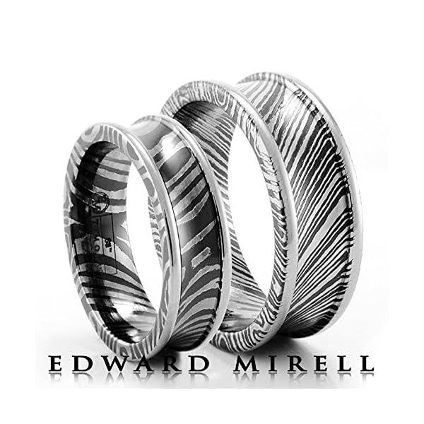 Edward-Mirell-Titanium-Grooved-Blue-Anodized-75mm-Wedding-Band