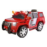 Rollplay GMC Yukon Denali Fire Rescue SUV 6-Volt Battery Powered Ride-On