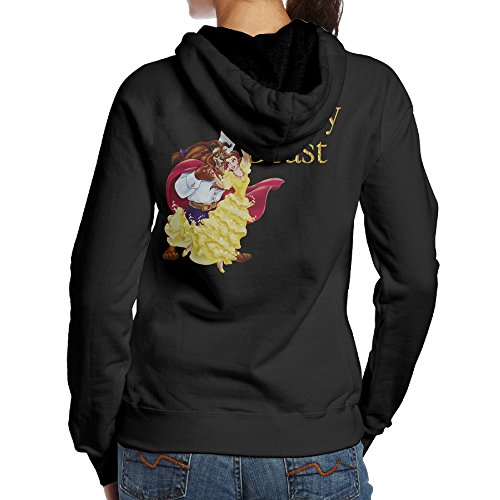 [SBLPT Beauty And The Beast Gym Women's Hooded Sweatshirt S Black] (Cheap Indiana Jones Costumes)