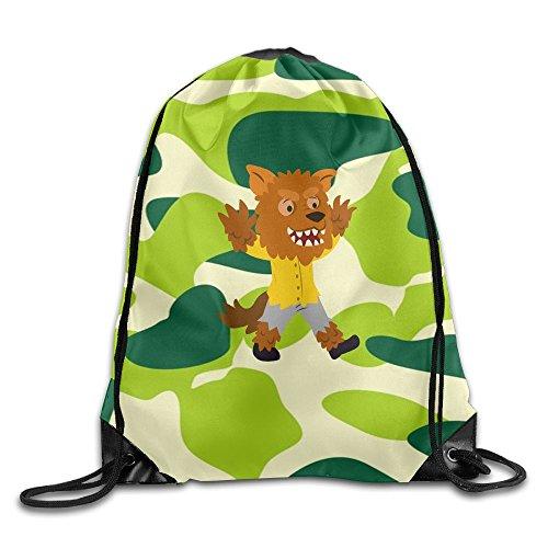 2018 Halloween Carnival Drawstring Bags School Backpack Sport Bag For Men & Women
